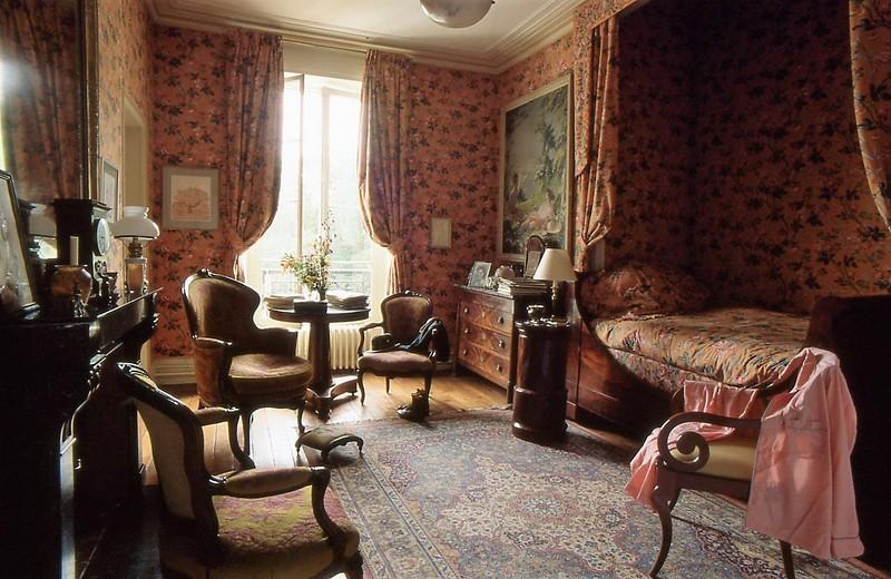 chambre #tissus #alcove